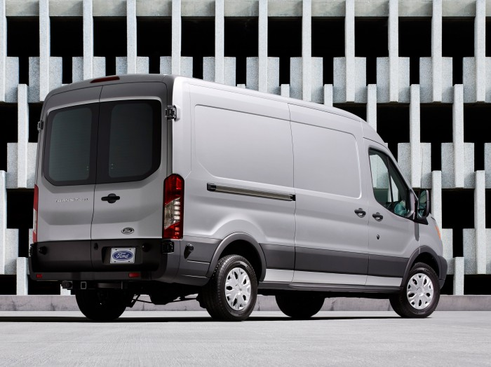 2015 Ford Transit Van Overview