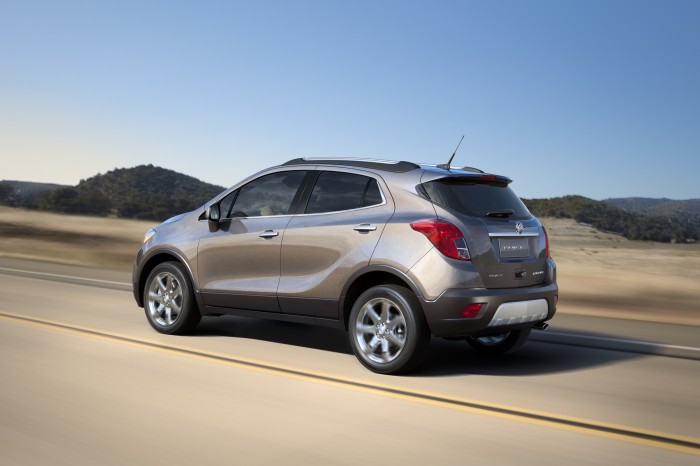 Buick Encore ranks highest in segment in Initial Quality Study