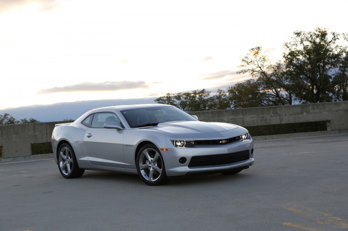 The 2014 Chevy Camaro, one of five Chevrolet models that won KBB Best Resale Value Awards