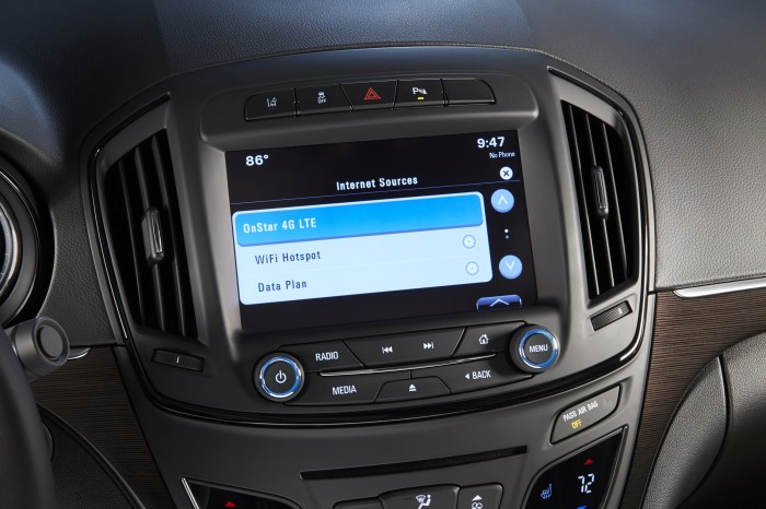 2015 Buick Verano drivers can stay connected with OnStar 4G LTE.