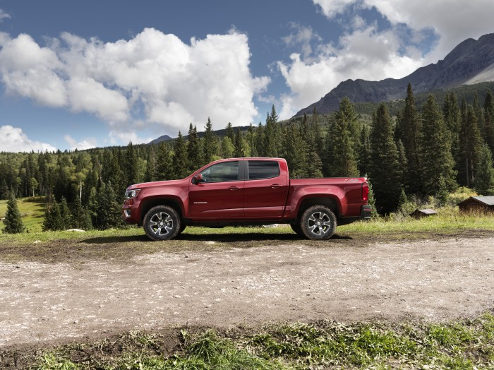 2015 Chevy Colorado Overview