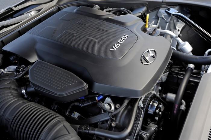 2015 Genesis engine