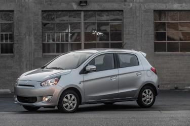 2015 Mitsubishi Mirage named Most Affordable Vehicle