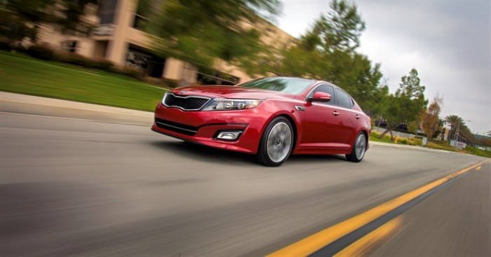 The 2015 Optima, which fueled this past year's 2014 Kia sales