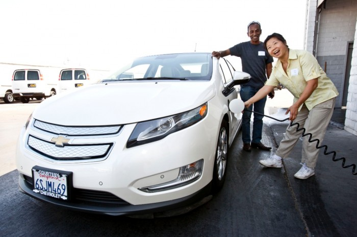 Workplace Charging Etiquette Tips - Chevy Volt