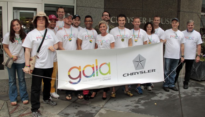 Chrysler Group at Motor City Pride