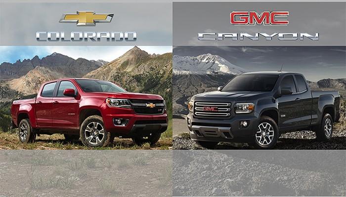 2015 GMC Canyon, 2015 Chevy Colorado Fuel Economy Announced
