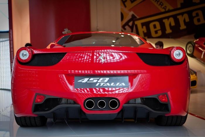 England vs. Italy: Ferrari 458 Italia