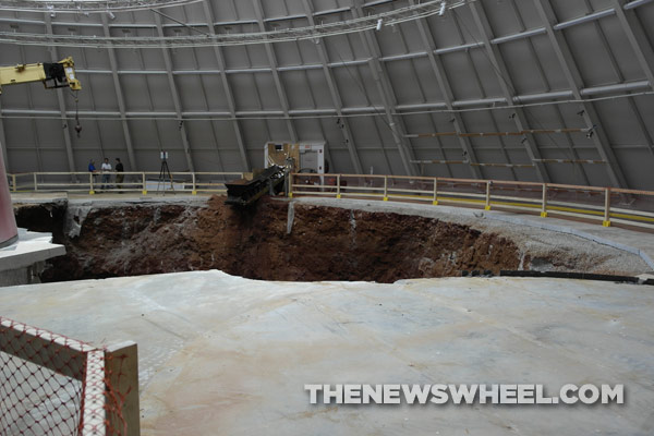 National Corvette Museum >> National Corvette Museum Sinkhole Documentary Is A Thing