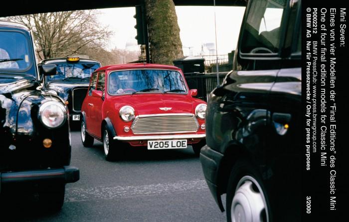 Uruguay vs. England: Classic Mini Cooper