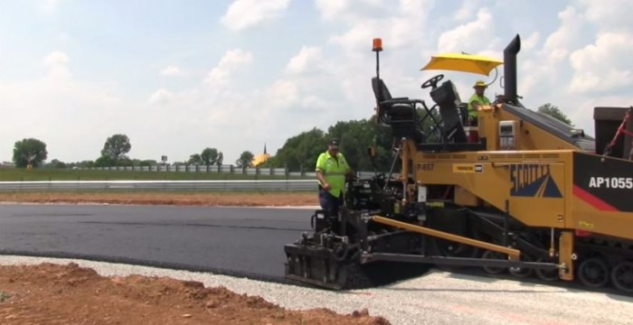 National Corvette Museum Motorsports Park paving