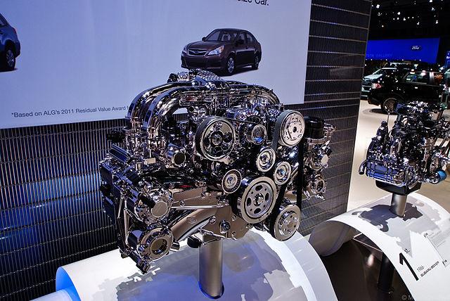 Porsche flat-four engines
