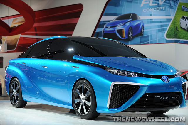 Toyota Hydrogen Fuel-Cell