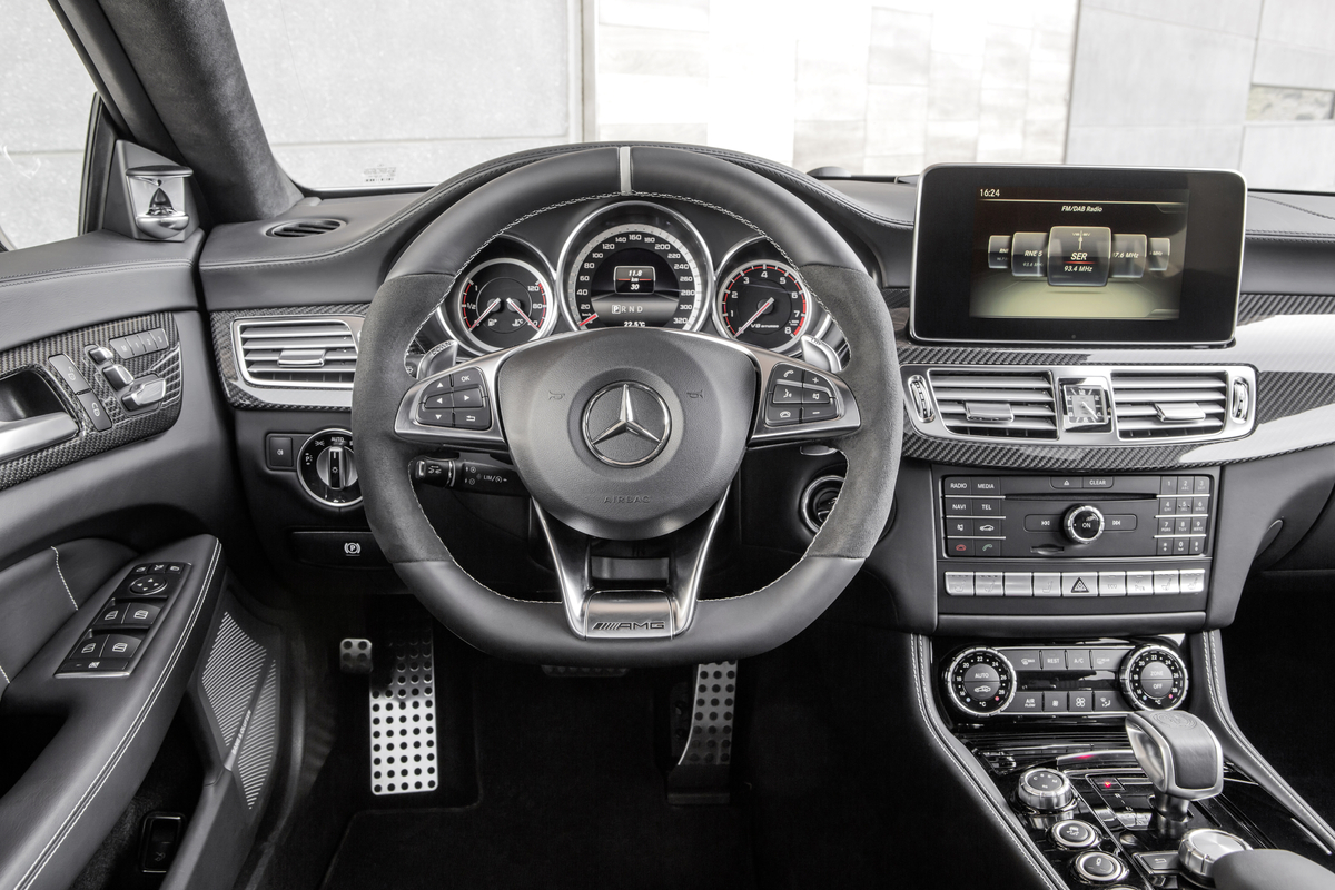 2015 Mercedes-Benz CLS Coupe Overview