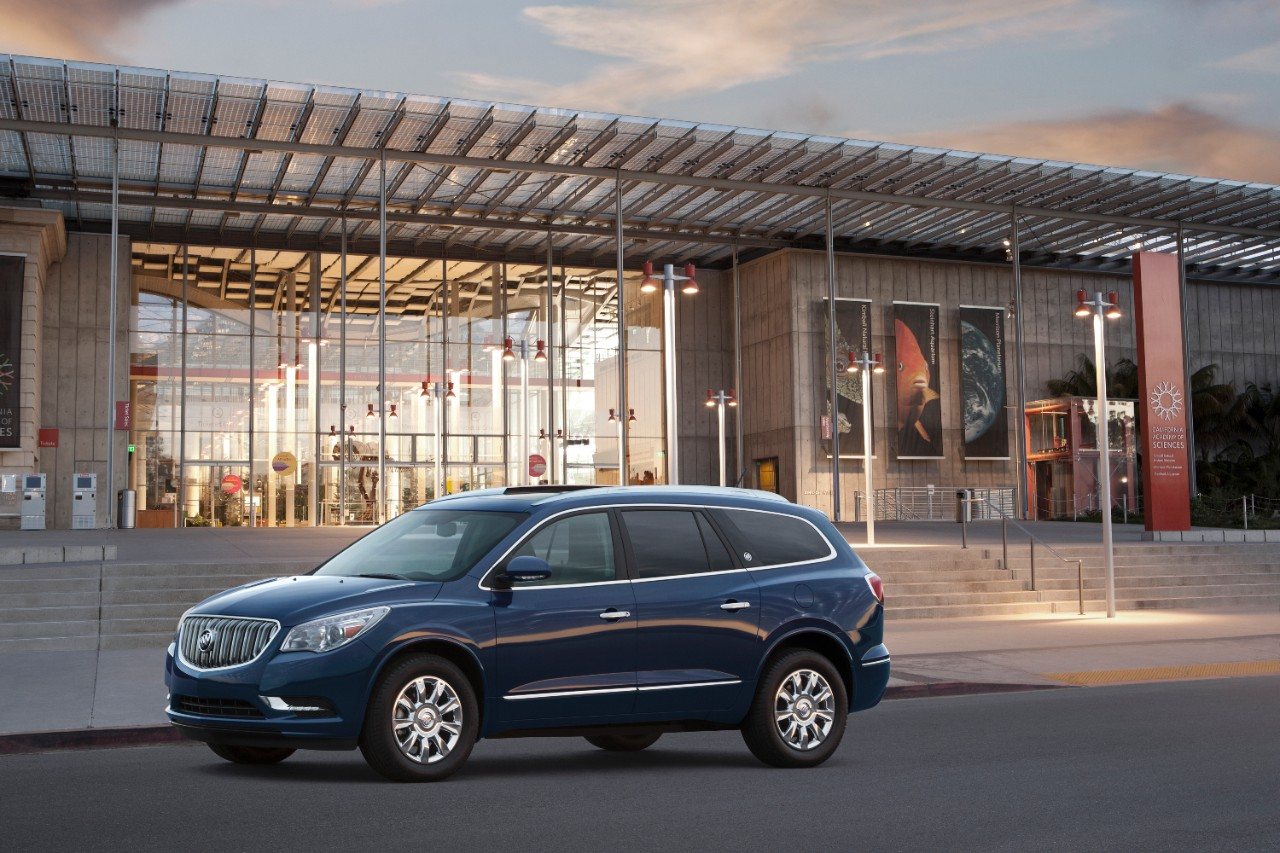 updates for the 2015 buick enclave