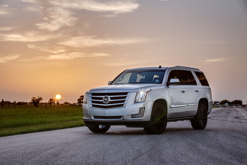 Hennessey Presents Its 2015 Supercharged Cadillac Escalade