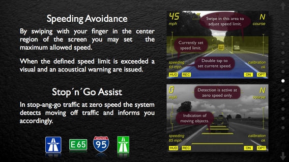 Augmented Driving App