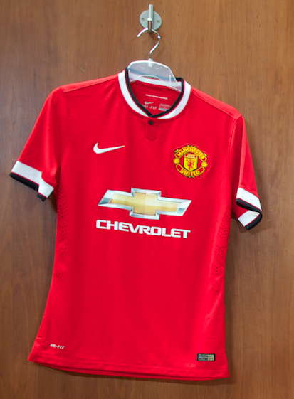 Chevy has chosen 11 kids to be mascots at Old Trafford match this Saturday.