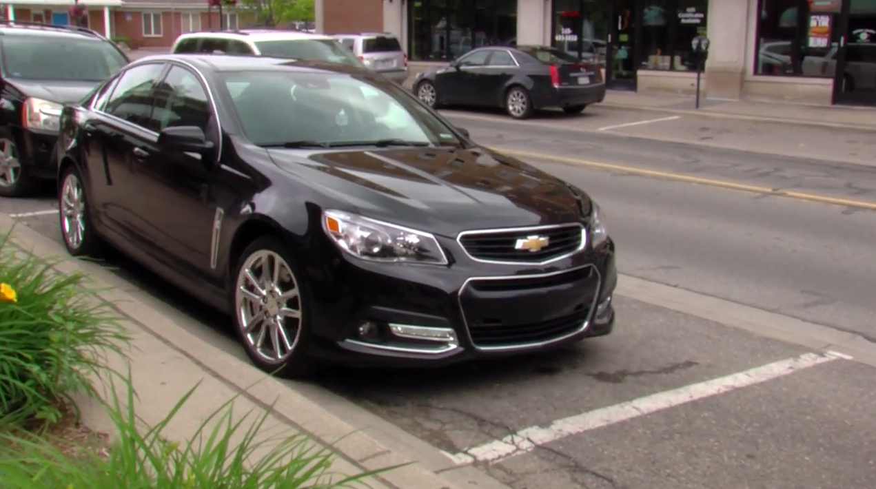 Chevy's Automated Technology: Standard Automatic Parking Assist on the SS