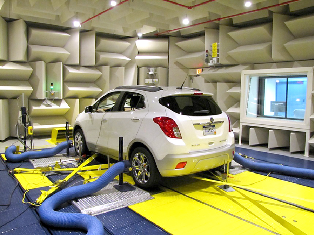 A look inside the new GM brake testing facility
