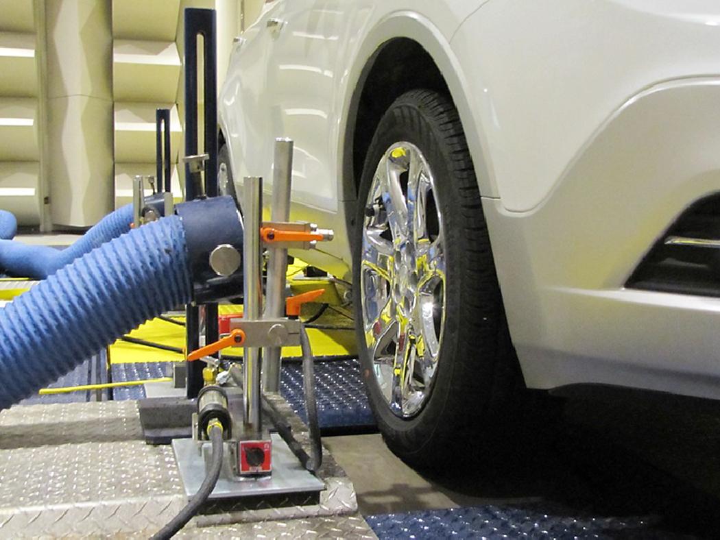 New GM Brake Testing Facility