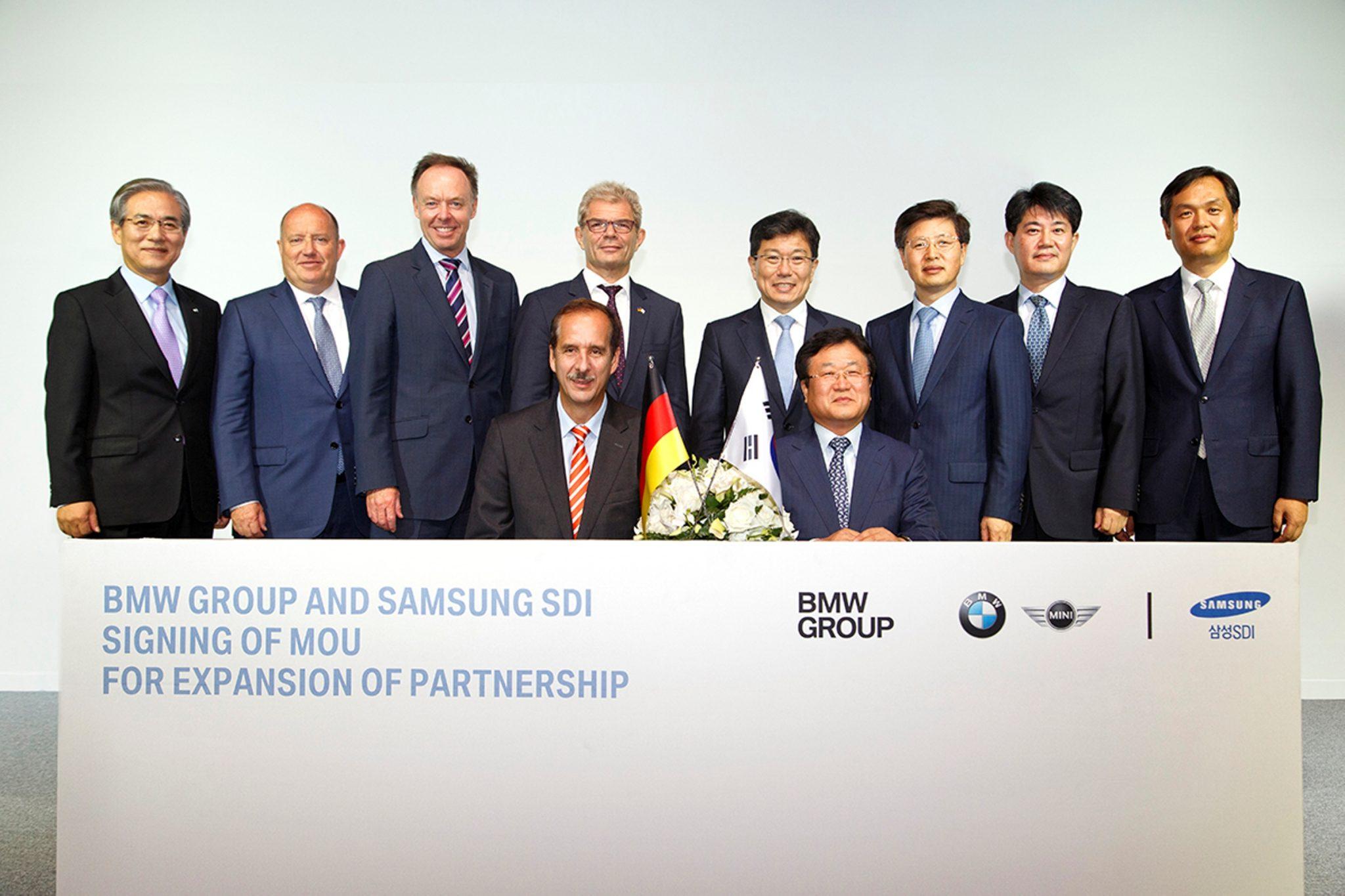 BMW Group and Samsung SDI