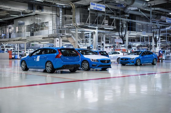 Volvo S60 and V60 Polestar production