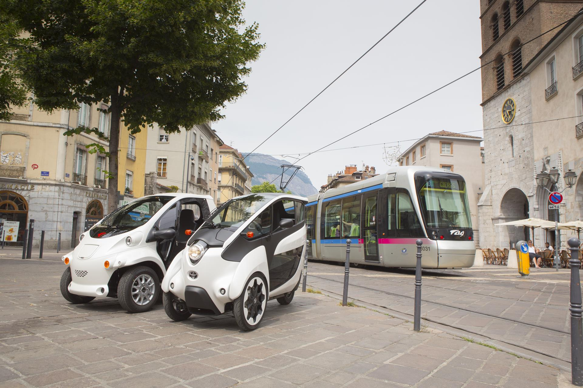 Grenoble car-sharing scheme