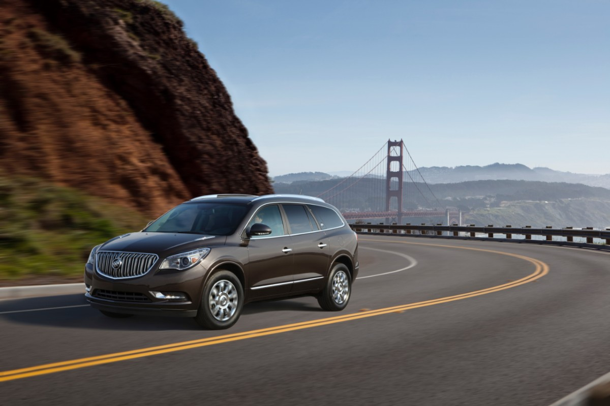 2014 Buick Enclave Black Grey Bridge Exterior