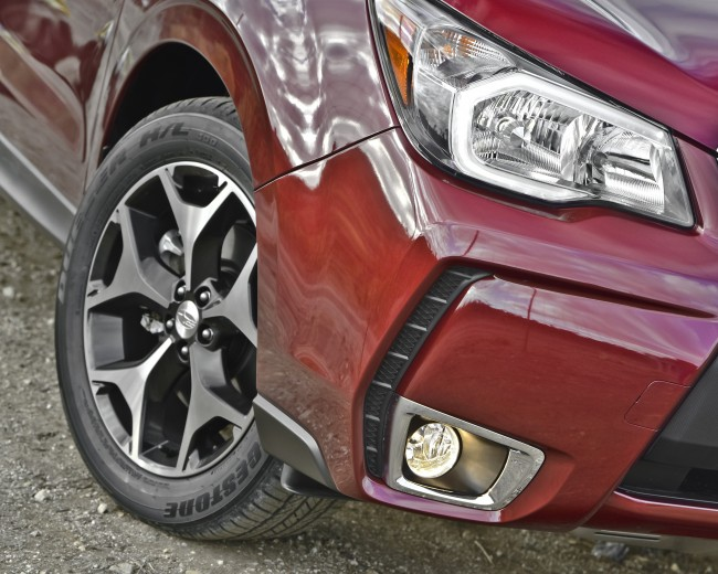 2014 Subaru Forester Wheel Fender Red Exterior