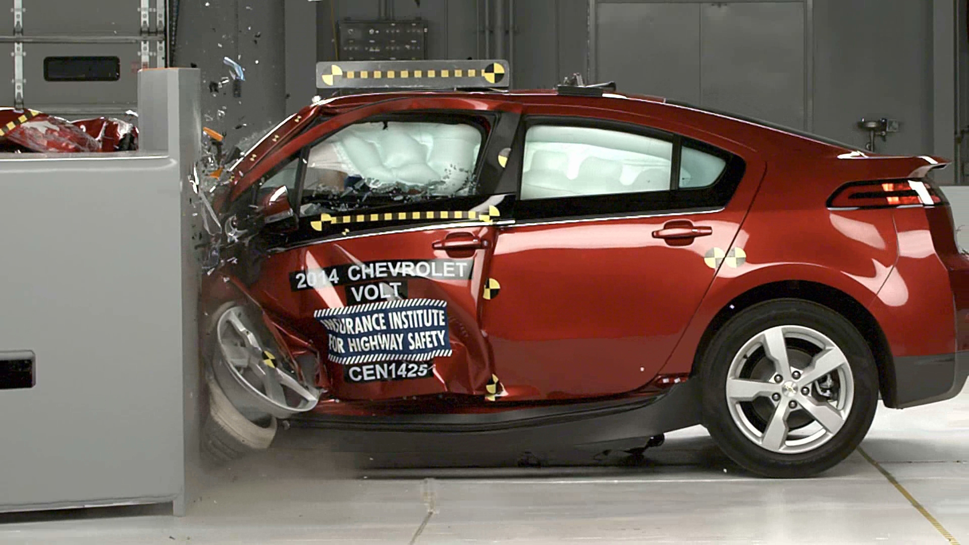 2014 Chevy Volt Earns a Top Safety Pick+ rating