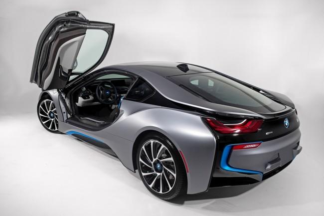 2014 BMW i8 Concours d'Elegance Edition__exterior_rear_grey_doors