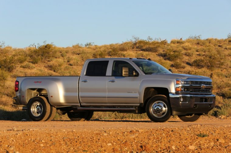 2015 Chevy Silverado 3500 overview
