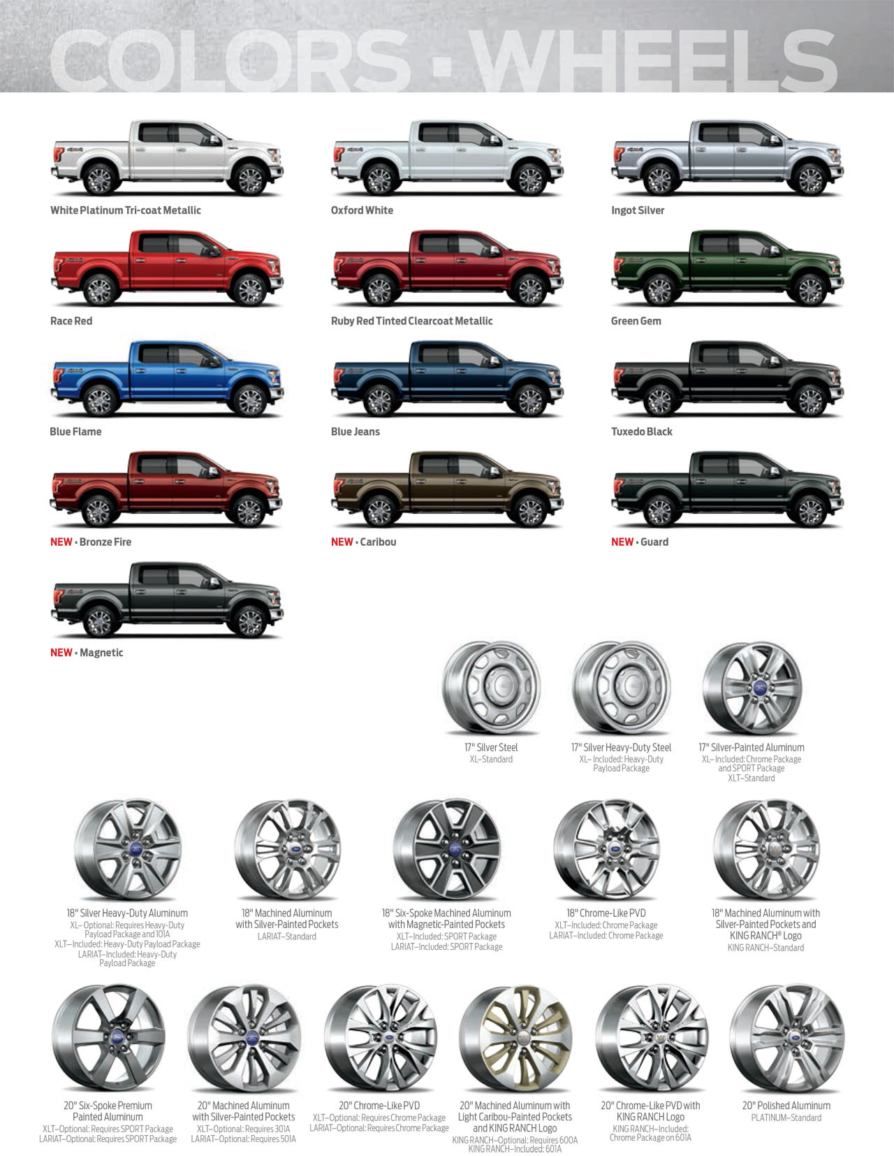 Take a Gander at the 2015 F-150 Appearance Guide - The ...