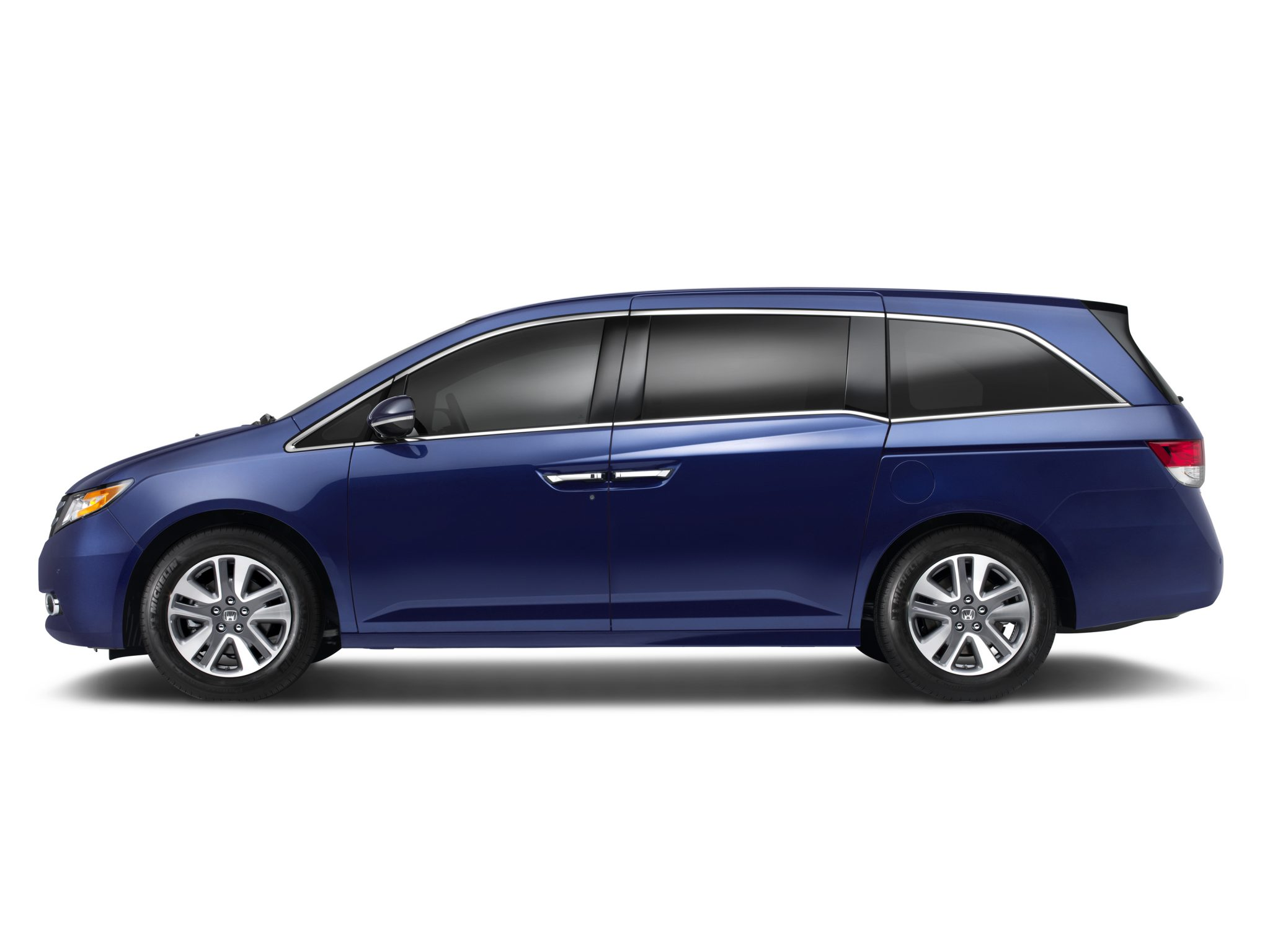 blue minivans