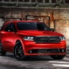 The 2014 Dodge Durango Blacktop treatment on the R/T model