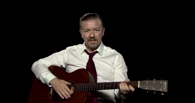 Ricky Gervais Will Reprise His David Brent Role for 'Life on the Road' Film