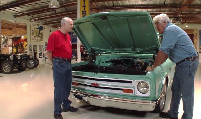 Jay Leno Drives a 1967 Chevy C10 Restomod
