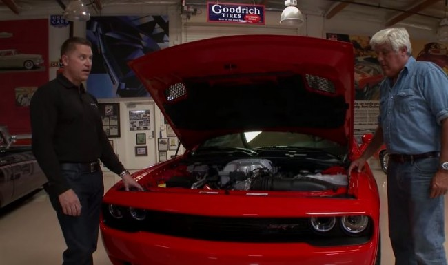 Jay Leno Meets the 2015 Dodge Challenger SRT Hellcat
