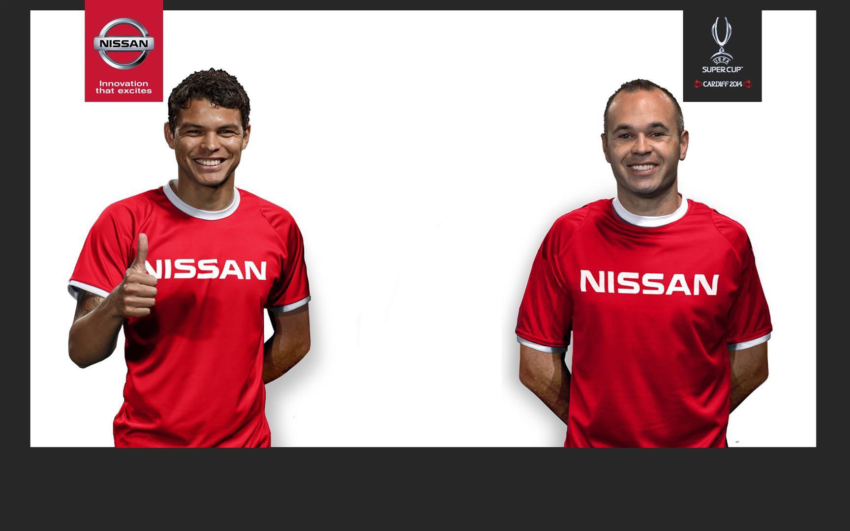 Nissan UEFA ambassadors