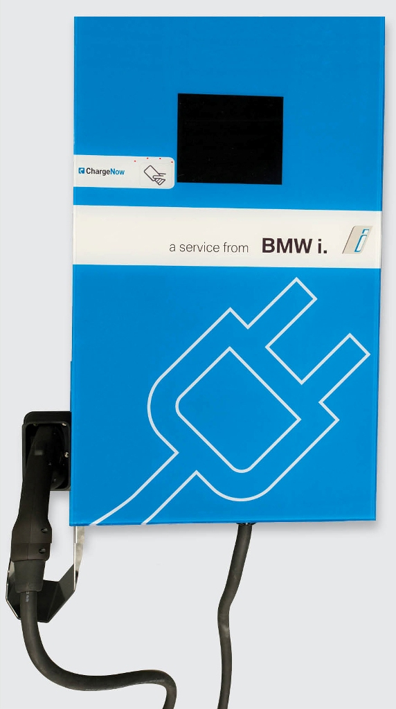 BMW i DC Fast Charger Station