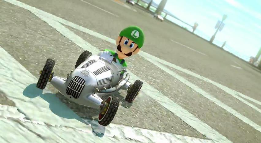 Mercedes-Benz in Mario Kart 8