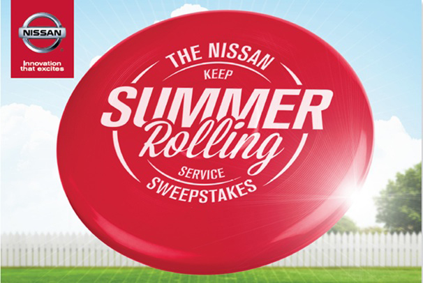 Nissan Keep Summer Rolling Service Sweepstakes