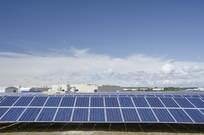 Toyota UK's Solar Array