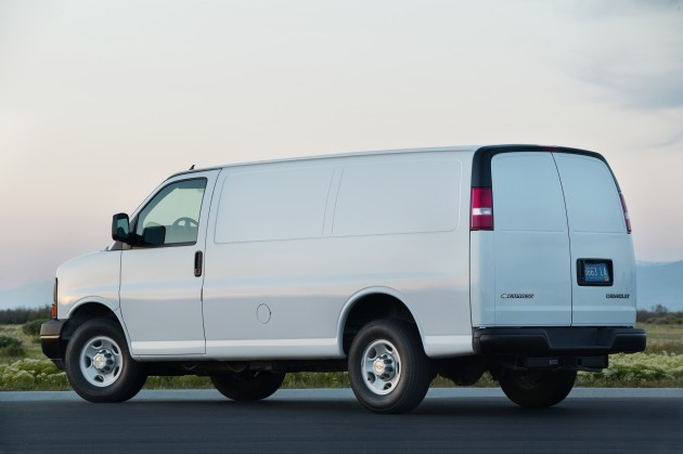 Updates for the 2015 Chevy Express 2500 Cargo Van