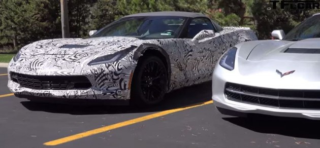 TFLCar gathered a numbe rof 2015 Corvette Z06 spy shots.