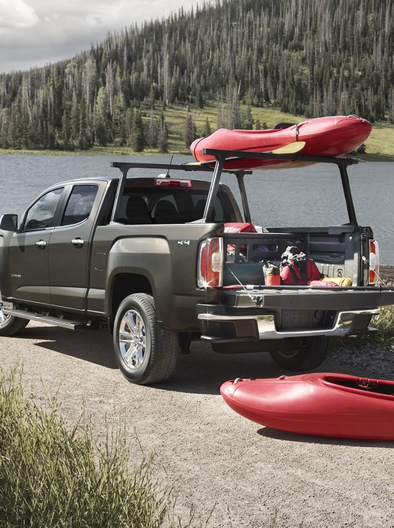 All the 2015 GMC Canyon Accessories, in a Nutshell - The News Wheel