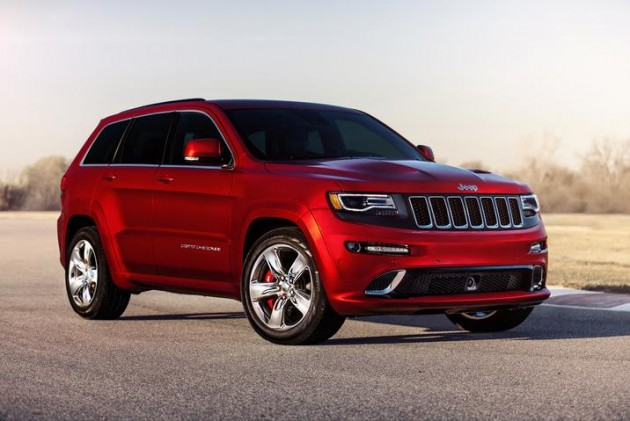 The 2015 Jeep Grand Cherokee SRT | Trackhawk Trademark