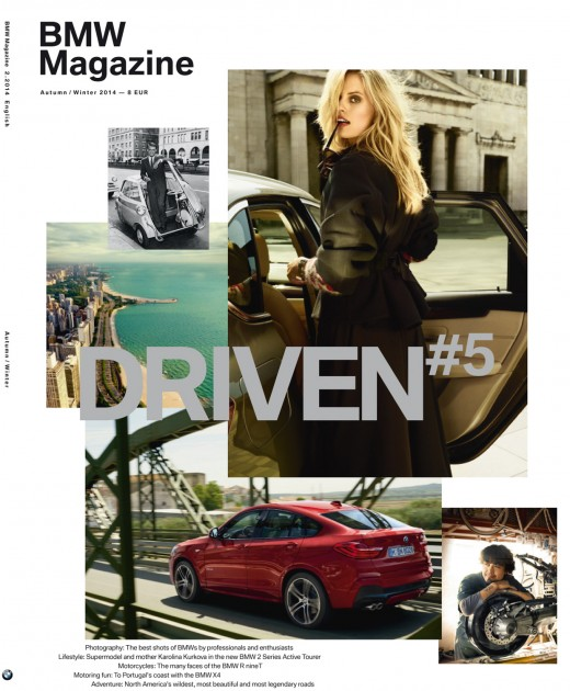 BMW Magazine available worldwide