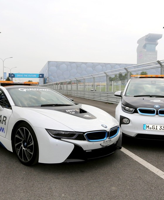 [VIDEO] BMW I8 Safety Car Leads The Way In Formula E